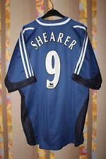 NEWCASTLE UNITED 2001 2002 AWAY FOOTBALL SHIRT JERSEY #9 SHEARER