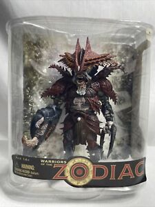 Warriors Of The Zodiac Cancer Action Figure - McFarlane Toys 2008