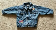 The Disney Store Baby Boys/Girls Blue Pooh & Tigger Jean Jacket, Size 18 Months