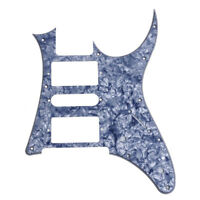 Electric Guitar Pickguard HSH for Ibanez RG250 Style Replacement Gray Pearl