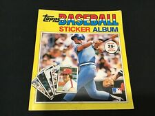 1981 Edition Topps Baseball Sticker Yearbook - George Brett Cover - Unused