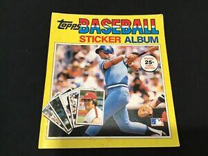 1981 Edition Topps Baseball Sticker Yearbook - George Brett Cover - Unused