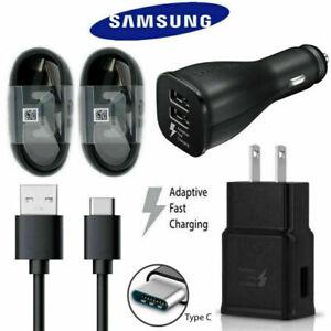 Samsung Galaxy A71 5G UW/A21s/A71 5G A51 5G + OEM Fast Home + Car Charger Set
