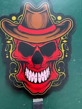 CLASSIC SKULL,,  SOUND ACTIVATED FLASHING PANEL   6