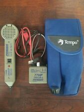 Tempo 200EP Inductive Amplifier Tone Probe Kit Wires & Pouch