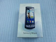 Samsung Wave GT-S8500 Schwarz! Ohne Simlock! TOP ZUSTAND! OVP! Imei gleich!
