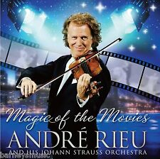 ANDRE RIEU ( NEW SEALED CD & DVD ) MAGIC OF THE MOVIES