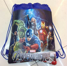 Avengers Backpack Swimming Clothes Environmental Toy Kid's Drawstring Bag