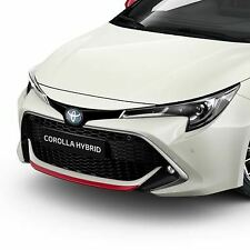 Genuine Toyota Corolla 2019 Front Bumper Garnish Red Pw401-02000-dj