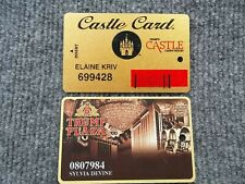 New listing set of 2 Donald Trump Castle & Plaza Casino Slot Players cards