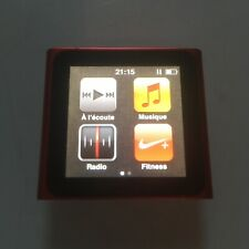Ipod Nano 6th Generation RED Rouge 16go