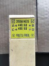 WESTINGHOUSE COIL CAT# 2050A14G15 440/480 VAC 60 HZ