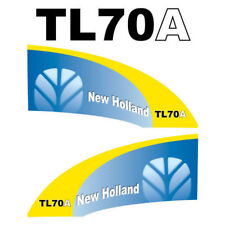 New Holland TL70A tractor decal aufkleber adesivo sticker set