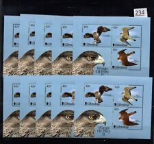 # 10X GIBRALTAR 2001 - MNH - BIRDS - EAGLE