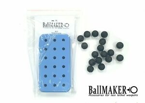BallMAKER Silicon Mold for making BALLS cal. 50 for HDR HDP 50 RAM, TR