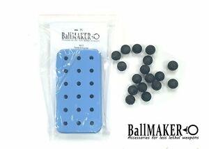 BallMAKER Silicon Mold for making BALLS cal. 50 for HDR HDP 50 RAM, TR