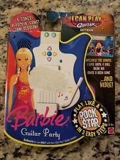 FISHER PRICE I CAN PLAY GUITAR BARBIE PARTY SOFTWARE K9901 NEW FREE SHIPPING