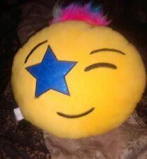 Round Shape Star Eye Emoji  Pillow