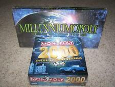 MONOPOLY MILLENNIUM & MILLENNIUMOPOLY New & Sealed PEWTER PIECES Lot of 2 Games