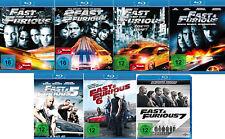 Fast & Furious 1,2,3,4,5,6,7 # 7 Blu-ray Pak