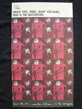 OSPAAAL Poster Che Guevara Create 2 3 many Vietnam's That is the Watchword 1967