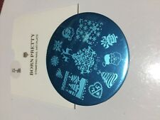 born pretty Christmas Stamping Plate , , Nail Art , Polish ,gel Acrylic