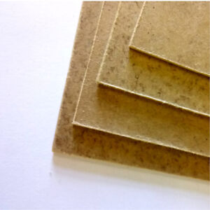 1 x Thin MDF Sheet / Panel - Size 40 x 40cm (15.7 x 15.7 inches)
