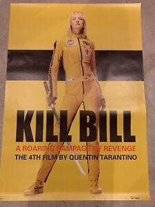 "Extra Large kill bill poster -54""x 38""- Quentin Tarantino, Uma Thurman"