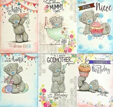 Me To You Birthday Card ~ Goddaughter/Godmother/Sister/Auntie/Niece/Mummy ~cute