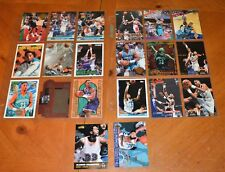 BEAUTIFUL ALONZO MOURNING LOT COLLECTION CHARLOTTE HORNETS