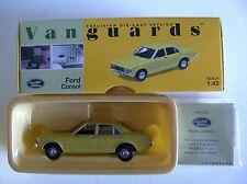 """VANGUARDS Ford Consul """"yellow""""   VA05502 1:43"""