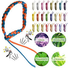 Anti Mosquito Pest Insect Repellent Bracelet Leather Wrist Bands Wristbands UK