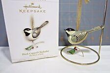 "2006 Hallmark QX2506 ""Beauty of Birds -- #2 Black-Capped Chickadee""  Ornament"