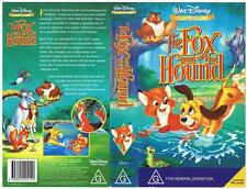DISNEY -  THE FOX AND THE HOUND  *RARE VHS TAPE*   CLASSICS COLLECTION