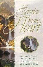 Stories for a Man's Heart Gray Abridged Audio Cassettes