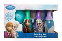 Disney Frozen Elsa Anna Toddler Bowling Toy Set Preschool Indoor Outdoor 7pc New