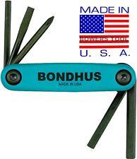 Bondhus Gorilla Grip Utility Fold Up Set Square Robertson Slot Phillip USA 12543