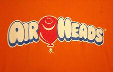 AIRHEADS CANDY logo T shirt XL candy beat-up tee Perfetti taffy strips Kentucky