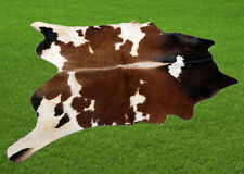 """100% New Cowhide Rugs Area Cow Skin Leather (46"""" x 46"""") Cow hide SA-7007"""