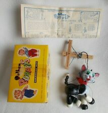 Vintage Pelham Puppets A8 Cat Boxed with Instructions