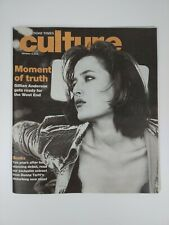 Sunday Times Culture Supplement October 2002  - Gillian Anderson