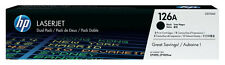 2x TONER HP 126a Color LaserJet CP1025nw Pro100 200 MFP M175A M175NW M275A SET
