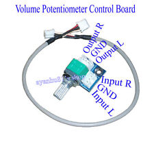 Mini Volume Potentiometer Control Board With Cable DIY For Amp Amplifier Board