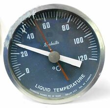 ROCHESTER GAUGES LIQUID TEMPERATURE GAUGE 5-68064D, RANGE: 0 - 120 °C