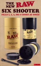 RAW SIX SHOOTER - befüllt 1, 2, 3 oder 6 King Size Cones gleichzeitig -TOP!-NEU!