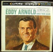EDDY ARNOLD sings them again LP VG LSP 2185 Vinyl 1960 Record