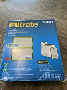 Filtrete Replacement Hepa Air Purifier Filter for Idylis