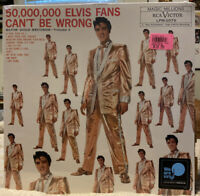 10,000,000 Elvis Fans Can't Be Wrong Elvis Presley Vinyl LP Sealed 2020 Reissue
