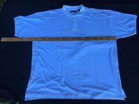 Greystone Polo Shirt Mens 8XL Big Tall Solid White Cotton Short Sleeves