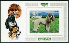 Bhutan-1973. Dogs Block MNH 8.00€